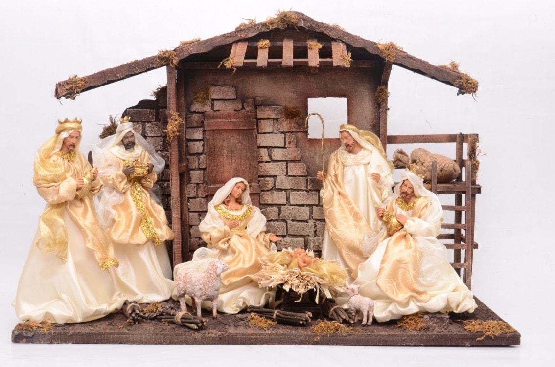 Szopki bożonarodzeniowe - wyposażenie wnętrz
