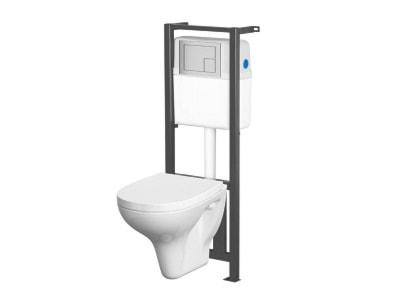 Stelaże podtynkowe WC – modne wyposażenie wnętrz na Homebook.pl