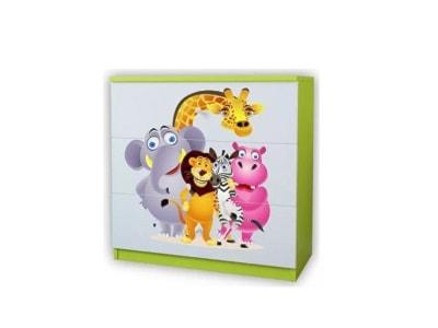 Komody dziecięce – modne wyposażenie wnętrz na Homebook.pl