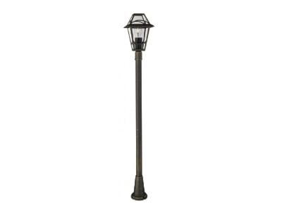 Szare Lampy ogrodowe - wyposażenie wnętrz