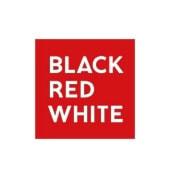 lustra black red white