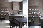 Kuchnia w przestrzeni open space - zdjęcie od STUDIO.O. organic design - Homebook