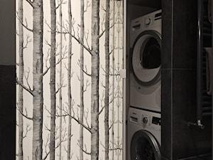 Penthouse Wilanów - łazienka gościnna - zdjęcie od Stocki Design