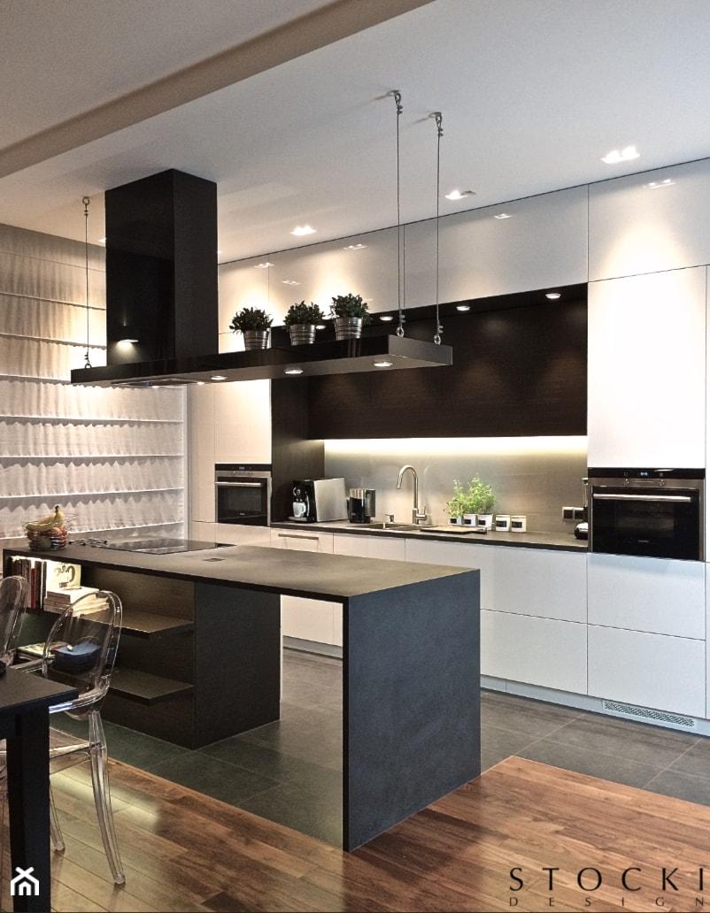 Penthouse Wilanów  kuchnia  zdjęcie od Stocki Design -> Kuchnia Otwarta Wilanow Kontakt