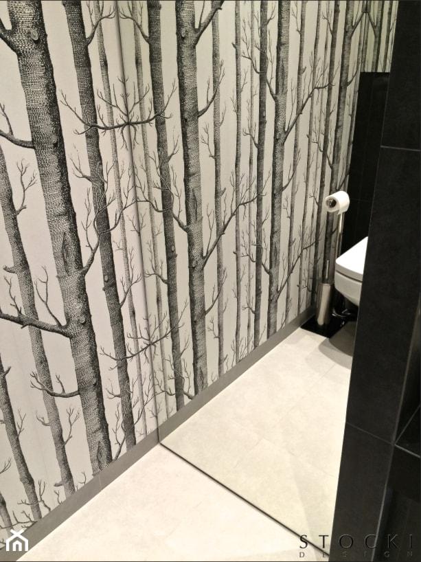 Penthouse Wilanów - łazienka gościnna - zdjęcie od Stocki Design - Homebook