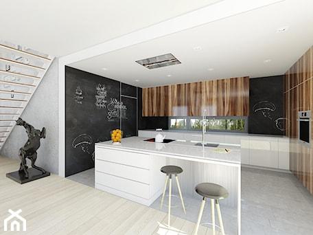 Aranżacje wnętrz - Kuchnia: dom modny - DOOMO. Przeglądaj, dodawaj i zapisuj najlepsze zdjęcia, pomysły i inspiracje designerskie. W bazie mamy już prawie milion fotografii!