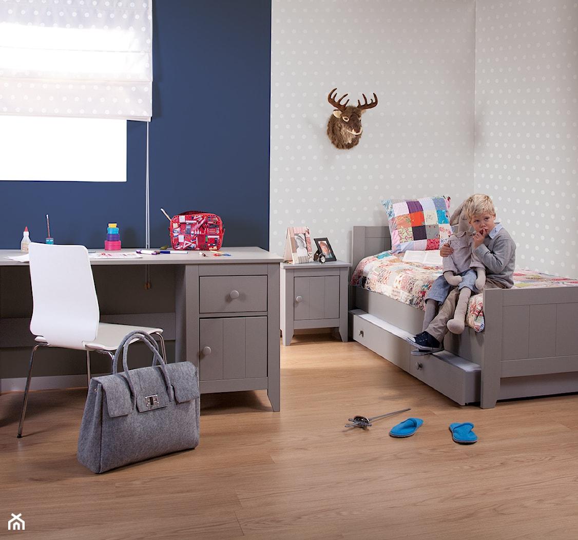 Pokój dla dziecka szaro-granatowy - zdjęcie od KiddyFave.com - Homebook