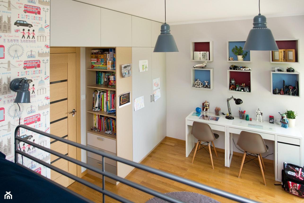 Pokój braci-zabawa, nauka, odpoczynek - zdjęcie od Renee's Interior Design - Homebook