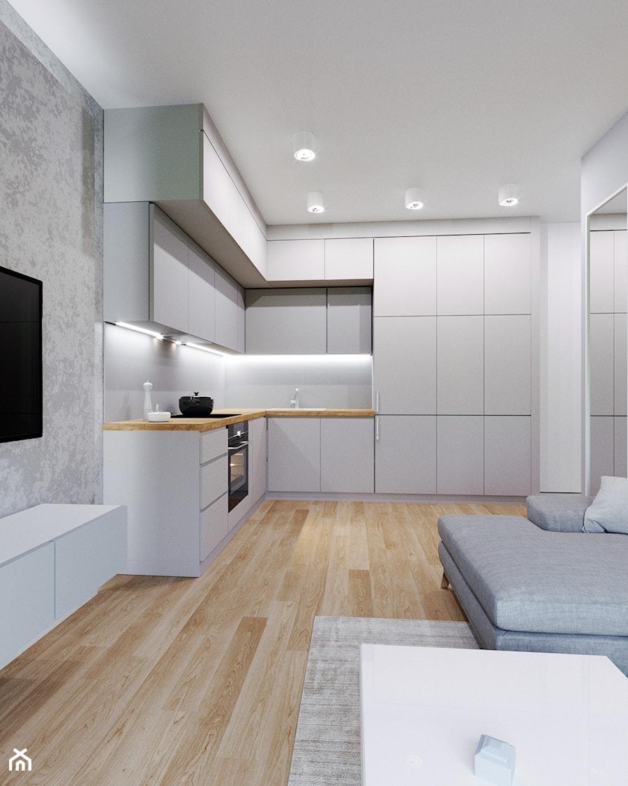Studio zapracowanej 30-latki - zdjęcie od Renee's Interior Design