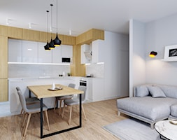 Miejski azyl dla dwojga-salon. - zdjęcie od Renee's Interior Design