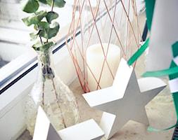 Święta w kolorze aksamitnej zieleni i miedzi - Salon, styl skandynawski - zdjęcie od My Sweet Dreaming Home - Homebook