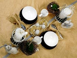 Jak udekorować wielkanocny stół w stylu eco?
