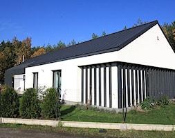 Budynek jednorodzinny, Bieruń - b. Tychy - Domy, styl nowoczesny - zdjęcie od MiA Projektowanie Michał Kanclerz - Homebook