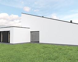 Projekt domu jednorodzinnego w Katowicach - Domy, styl minimalistyczny - zdjęcie od MiA Projektowanie Michał Kanclerz - Homebook
