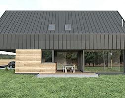 nowoczesna MIA stodoła - zdjęcie od MiA Projektowanie Michał Kanclerz - Homebook