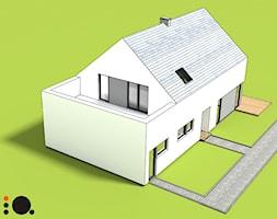 Projekt budynku jednorodzinnego w Bojszowach - zdjęcie od MiA Projektowanie Michał Kanclerz - Homebook
