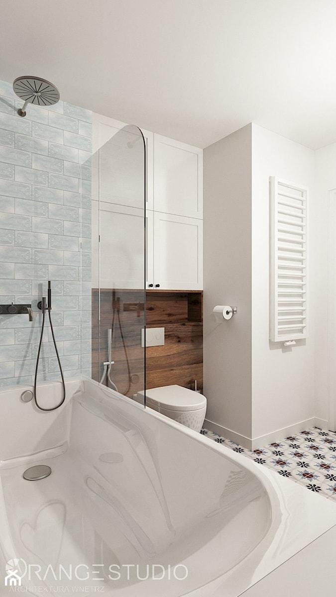 łazienka Z Wanną I Parawanem Zdjęcie Od Orange Studio
