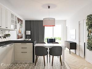 Półwysep kuchenny połączony ze stołem - zdjęcie od ORANGE STUDIO