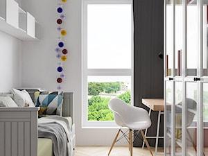 Gabinet spełnia również rolę pokoju dla gości - zdjęcie od ORANGE STUDIO