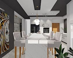 DOM pod Pajęcznem - Kuchnia, styl nowoczesny - zdjęcie od ALI DECOR ALINA KOWALSKA PROJEKTOWANIE I ARANŻACJA WNĘTRZ - Homebook