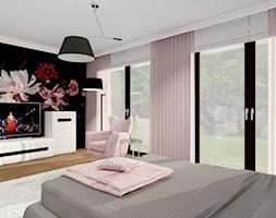 dom okolice Radomska - Sypialnia, styl nowoczesny - zdjęcie od ALI DECOR ALINA KOWALSKA PROJEKTOWANIE I ARANŻACJA WNĘTRZ - Homebook