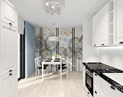 salon z kuchnią - Kuchnia, styl prowansalski - zdjęcie od ALI DECOR ALINA KOWALSKA PROJEKTOWANIE I ARANŻACJA WNĘTRZ - Homebook
