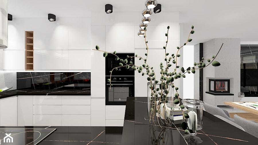 dom okolice Radomska - Kuchnia, styl nowoczesny - zdjęcie od ALI DECOR ALINA KOWALSKA PROJEKTOWANIE I ARANŻACJA WNĘTRZ