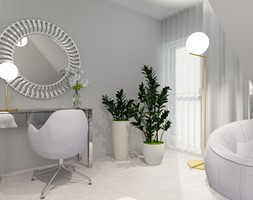 DOM pod Pajęcznem - Sypialnia, styl nowoczesny - zdjęcie od ALI DECOR ALINA KOWALSKA PROJEKTOWANIE I ARANŻACJA WNĘTRZ - Homebook