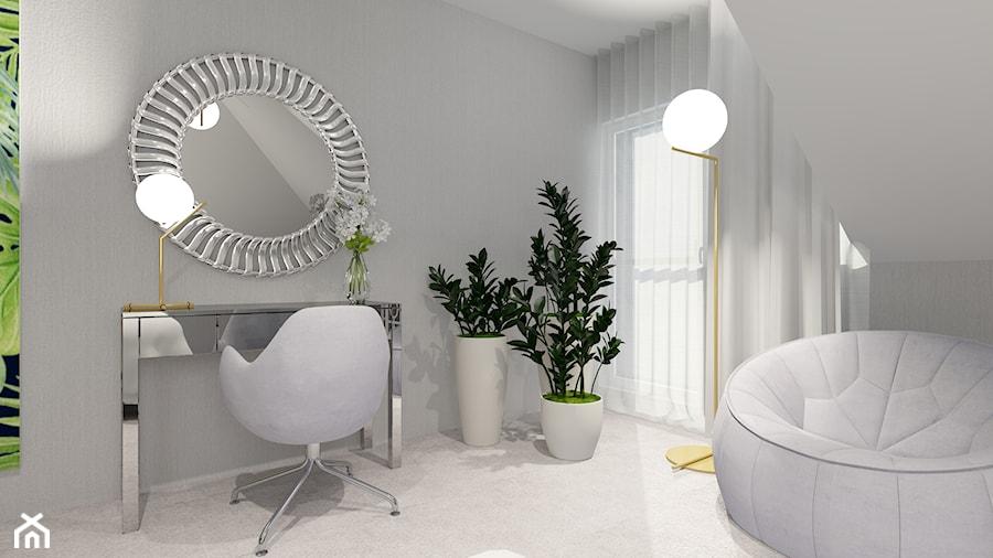 DOM pod Pajęcznem - Sypialnia, styl nowoczesny - zdjęcie od ALI DECOR ALINA KOWALSKA PROJEKTOWANIE I ARANŻACJA WNĘTRZ