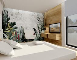 Dom w Kamieńsku - Sypialnia, styl nowoczesny - zdjęcie od ALI DECOR ALINA KOWALSKA PROJEKTOWANIE I ARANŻACJA WNĘTRZ - Homebook