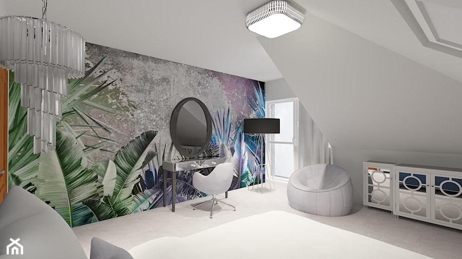DOM pod Pajęcznem - Sypialnia, styl klasyczny - zdjęcie od ALI DECOR ALINA KOWALSKA PROJEKTOWANIE I ARANŻACJA WNĘTRZ