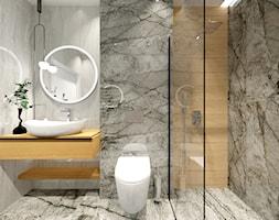 2 łazienki - Łazienka, styl nowoczesny - zdjęcie od ALI DECOR ALINA KOWALSKA PROJEKTOWANIE I ARANŻACJA WNĘTRZ - Homebook