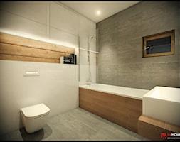 Salon z aneksem kuchennym - zdjęcie od CUDO - grupa projektowa