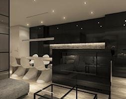 Projekt mieszkania we Wrocławiu - Salon, styl minimalistyczny - zdjęcie od CUDO STUDIO - Homebook