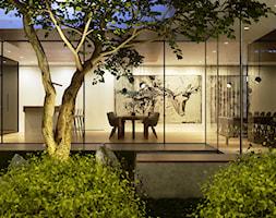 Projekt wnętrz domu - Ogród, styl minimalistyczny - zdjęcie od CUDO STUDIO - Homebook