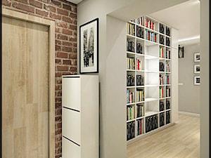Mieszkanie w starej kamienicy - Średni szary hol / przedpokój, styl minimalistyczny - zdjęcie od CUDO - grupa projektowa
