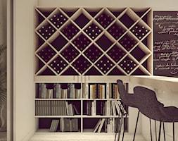 POP ART HOUSE - Mała otwarta kuchnia jednorzędowa, styl minimalistyczny - zdjęcie od CUDO STUDIO - Homebook