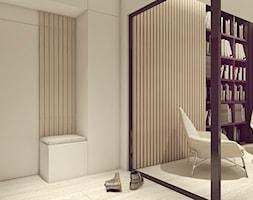 POP ART HOUSE - Mały biały hol / przedpokój, styl minimalistyczny - zdjęcie od CUDO STUDIO - Homebook