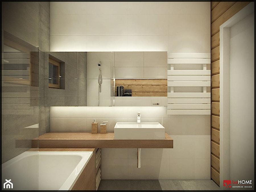 Salon z aneksem kuchennym - zdjęcie od CUDO STUDIO