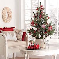 Klasyczne Święta w Bieli i Czerwieni - House to Home, Ozdoby świąteczne
