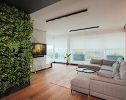 Rolety materiałowe - Salon, styl nowoczesny - zdjęcie od ANWIS Sp. z o.o. - Homebook