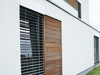 Żaluzje fasadowe w nowoczesnych domach