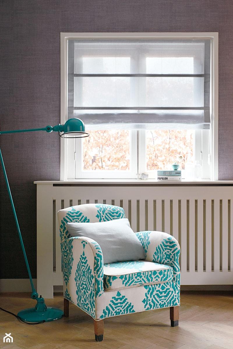 Rolety rzymskie - Salon, styl nowoczesny - zdjęcie od ANWIS Sp. z o.o.