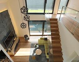Żaluzja fasadowa SOLIDBOX - Salon, styl nowoczesny - zdjęcie od ANWIS Sp. z o.o. - Homebook