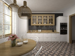 Projekt kuchni 21 m2 / Bochnia