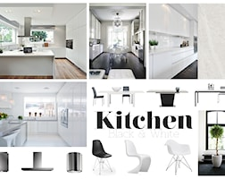 Kitchen - Black & White - zdjęcie od BIG IDEA studio projektowe
