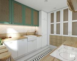 Projekt mieszkania 100m2 / Kraków / Kuchnia - zdjęcie od BIG IDEA studio projektowe - Homebook