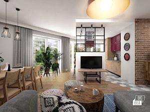 Projekt mieszkania 70,42 m2 / Warszawa