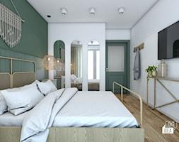 Projekt mieszkania 100m2 / Kraków / Sypialnia - zdjęcie od BIG IDEA studio projektowe - Homebook