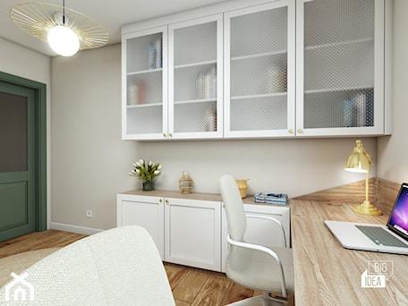 Aranżacje wnętrz - Biuro: Projekt mieszkania 100m2 / Kraków / Gabinet - BIG IDEA studio projektowe. Przeglądaj, dodawaj i zapisuj najlepsze zdjęcia, pomysły i inspiracje designerskie. W bazie mamy już prawie milion fotografii!